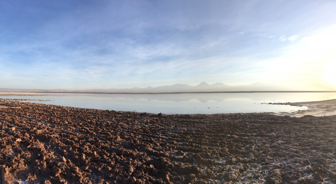 Laguna Tebinquinche, Perfect Reflections in the Salar de Atacama