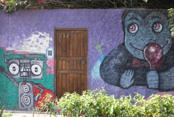 Urban graffiti in Lima