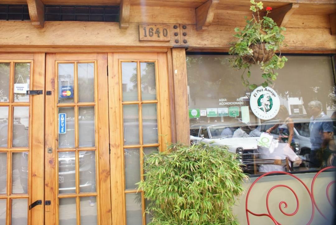 El Pez Amigo in Miraflores is one of the best cevicherias in the city