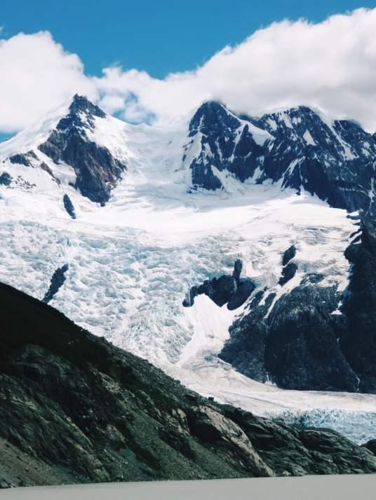 Mountain in Parque National Los Glaciares Argentina