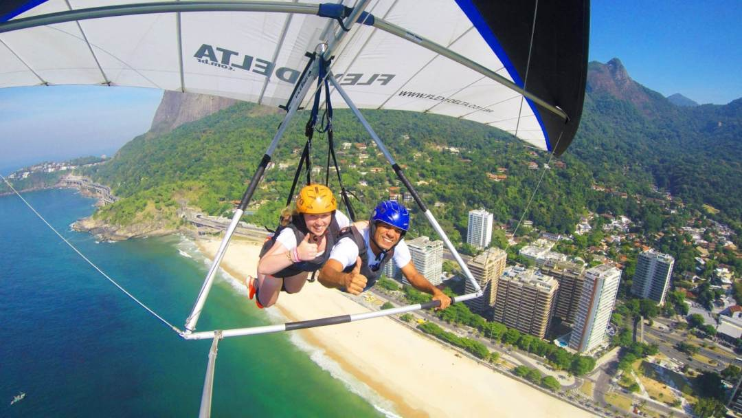 Hang Gliding in Rio - Awesome Adventure in Brazil