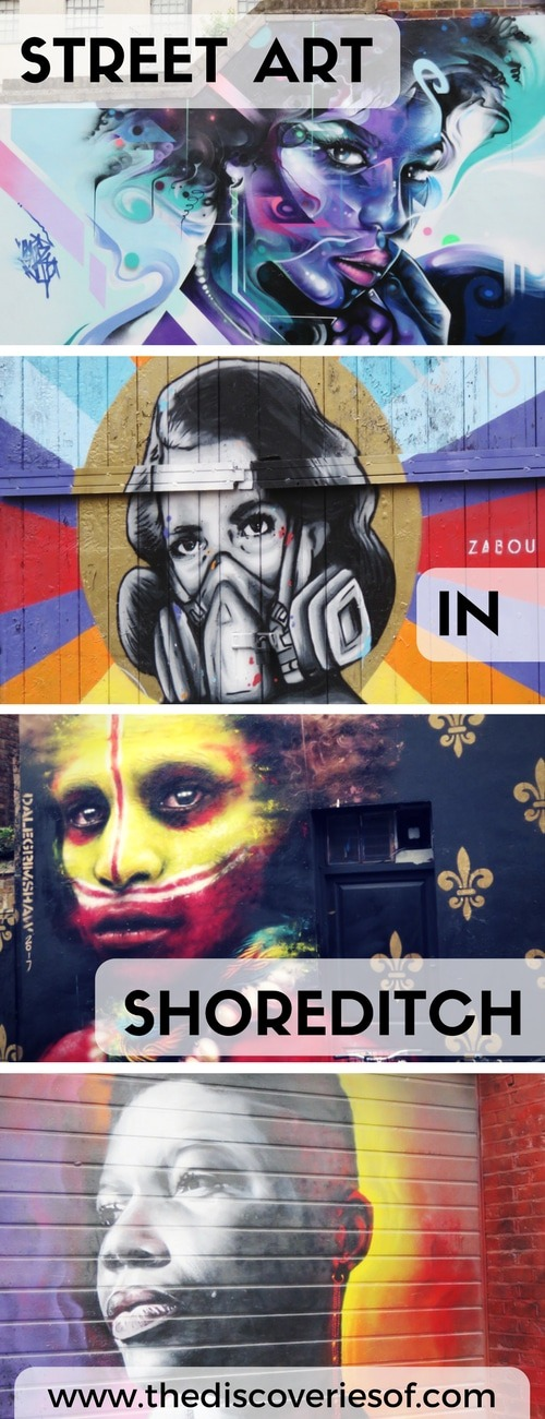 Shoreditch is the heart of the street art scene in London. Read our step by step guide to seeing the most awesome urban murals in London. Complete with a map for your own self-guided tour.