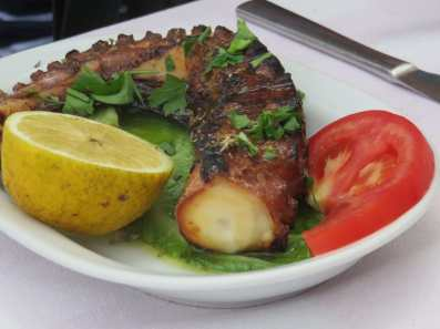 Corfu is well known for its seafood
