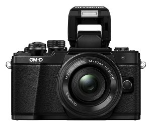 Olympus OM-D EM10 Mark II Flash Up