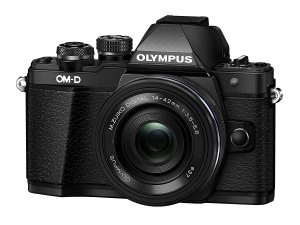 Olympus OM-D EM10 Mark II Travel Camera Diagonal View