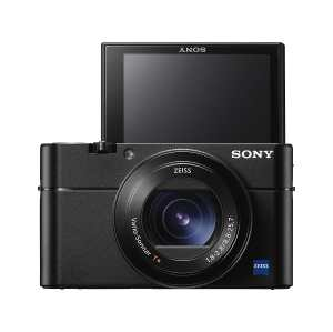 Sony RX100 V Tilted Screen