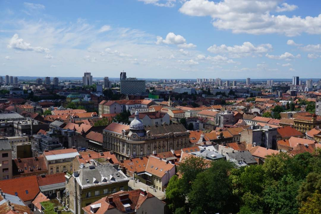 Great Views over the City - Awesome Reasons to Go to Zagreb . Read more.