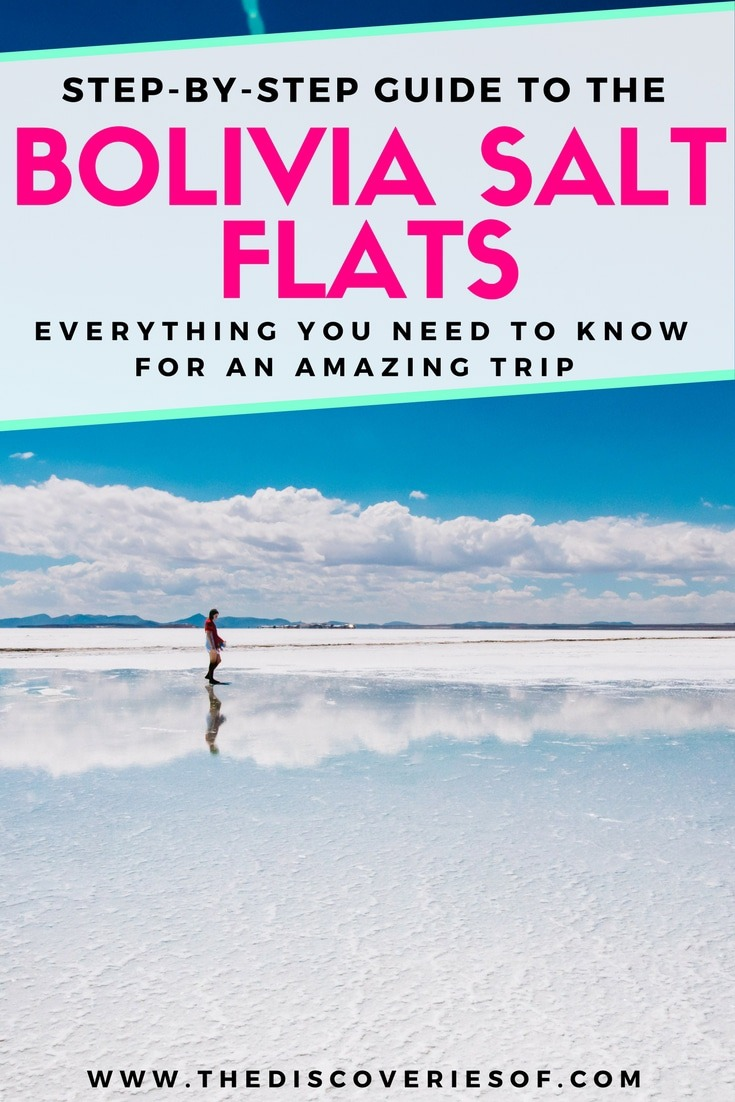 Plan an epic trip to the Bolivia salt flats (salar de uyuni) for an epic experience you won't forget! Travel to the world's largest salt flat and witness awesome landscapes with stunning photography opps. On your South America bucket list? Read more.