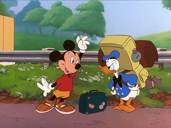 Disney Easter Eggs Goofy Movie Mickey And Donald
