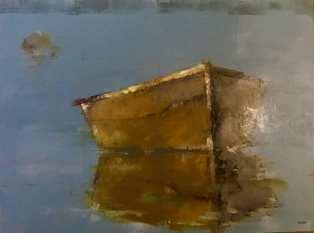 Stillness, 36x48 inches, oil on panel