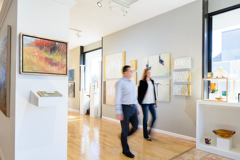 The District Gallery & Framery | A Look Inside The Gallery | Custom ...