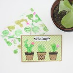 Greeting Card - What's Up Cactus? www.thediyday.com @thediyday