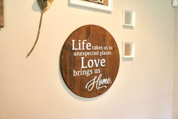 Life takes us to unexpected places, love brings us home