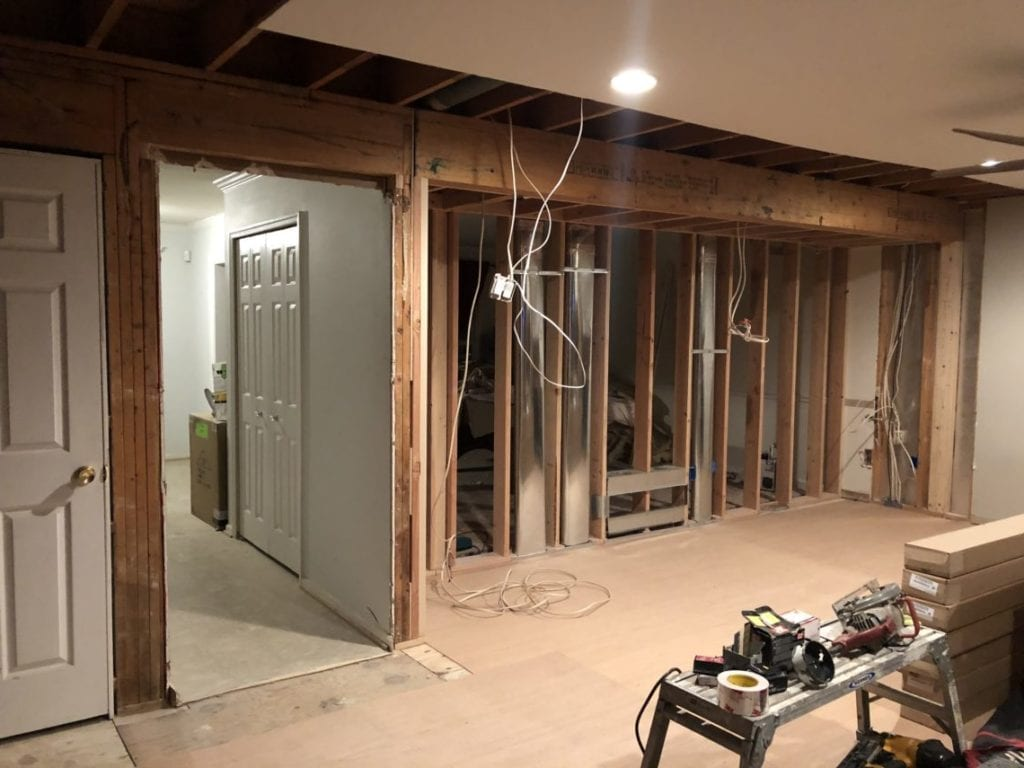 how to select a contractor - home renovation - down to the studs