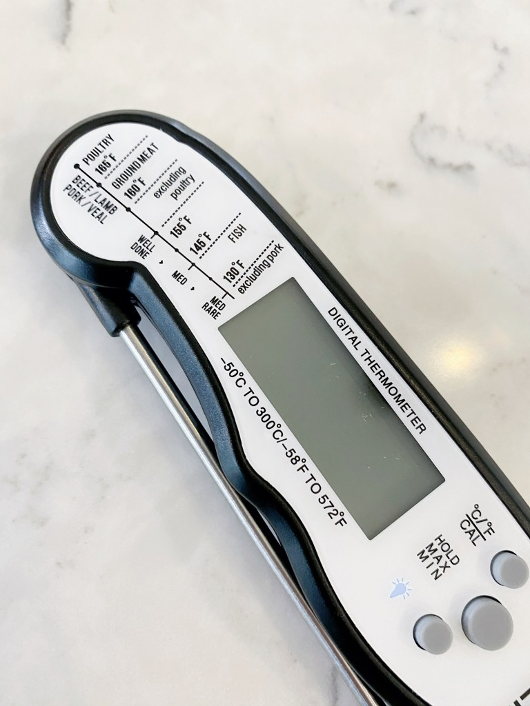meat thermometer closed
