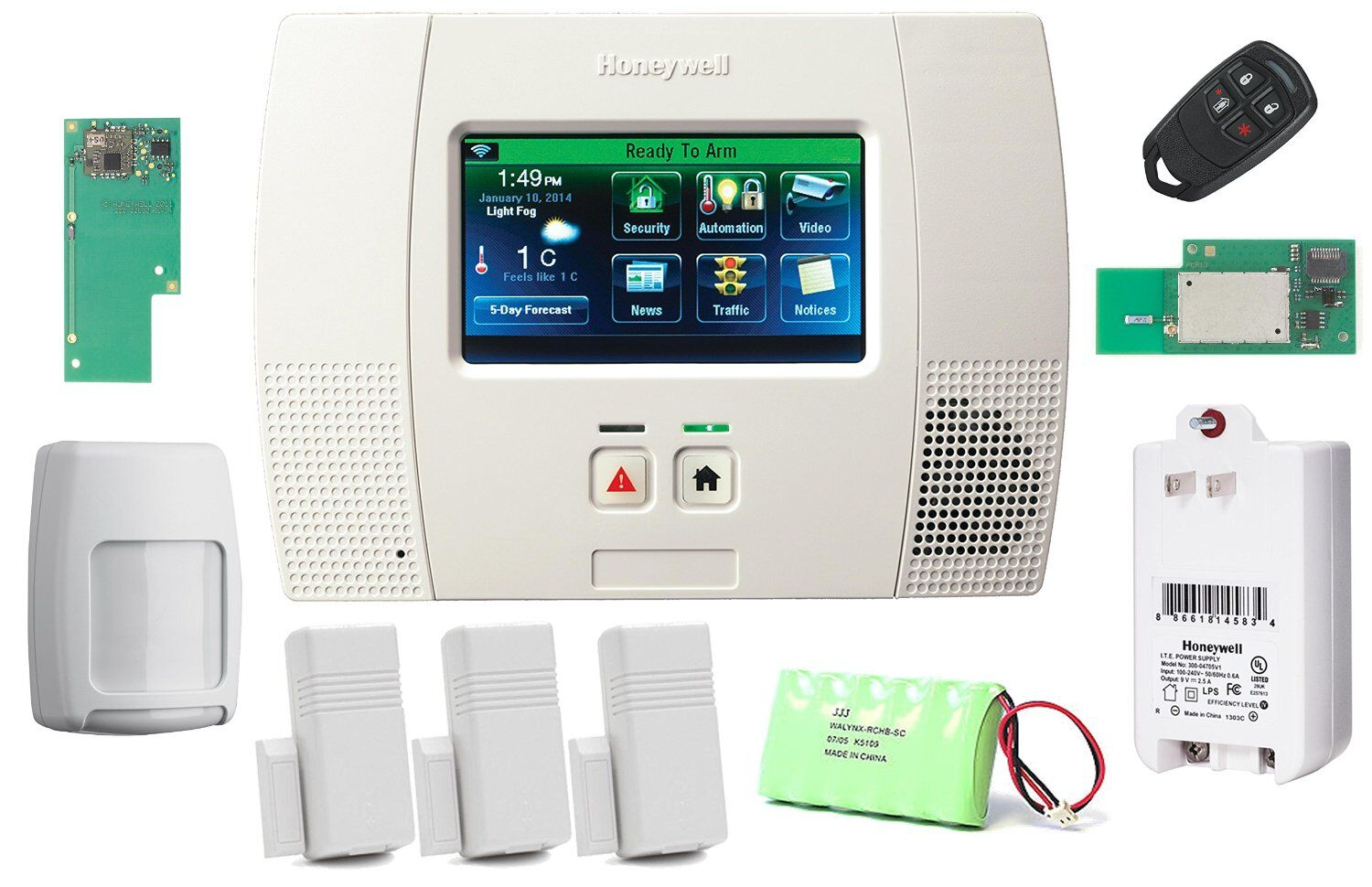 System Home Security India Wireless