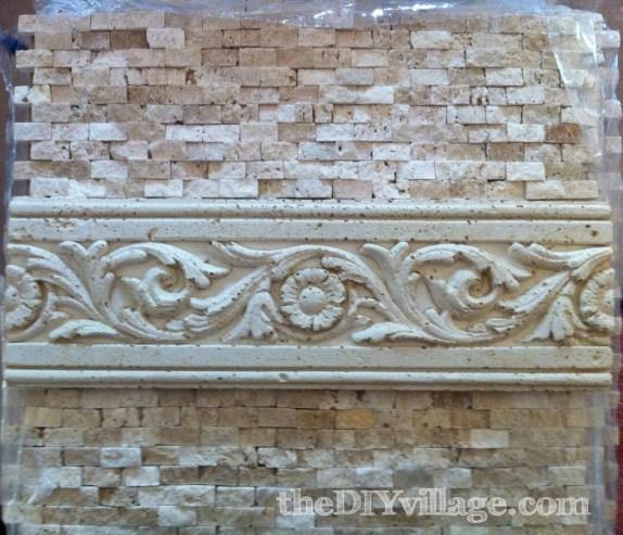 Installing Split Face Travertine Tile