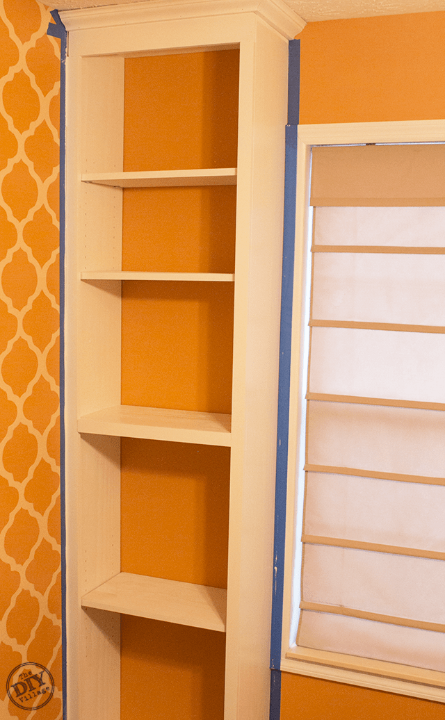 Custom-Built-In-Bookcase-After-Paint