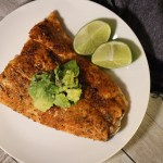 Blackened Lime Salmon with Avocado Salsa