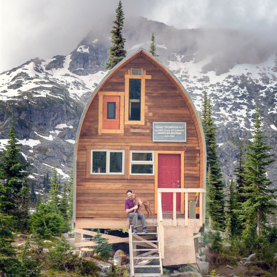 wendy thompson hut, pemberton, camping, backcountry,