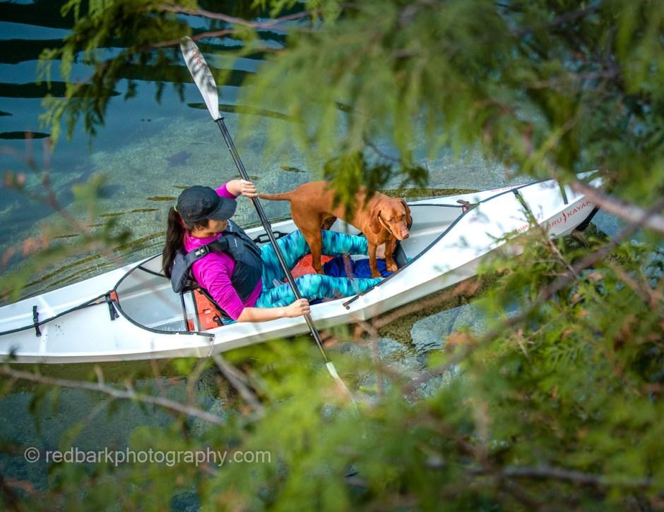 Oru Beach Kayak has so much space on board