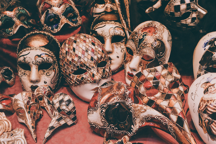 Venice Italy masks Travel Blogger The Dolls Factory