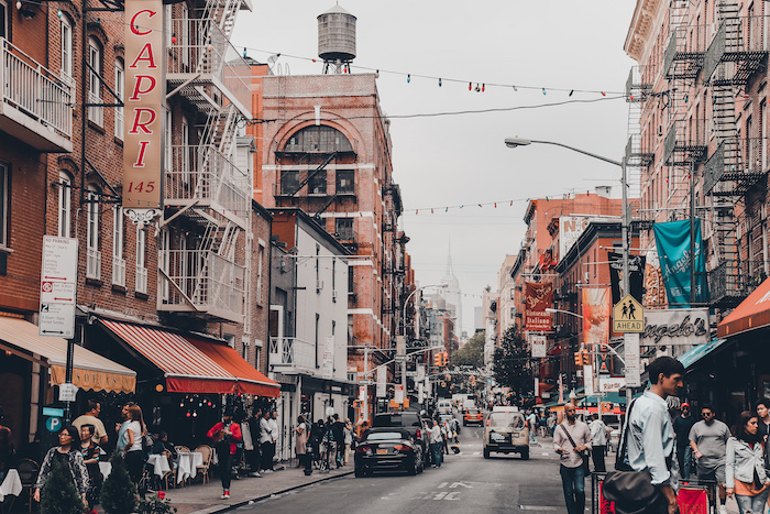 Little Italy streets