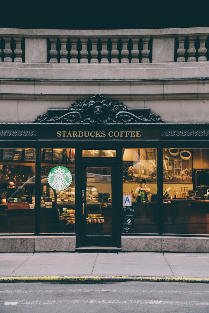 The chicest Starbucks in Grand Central Station