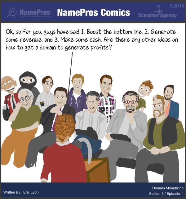 Namepros Comics