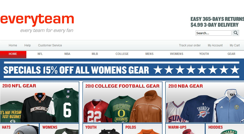 EveryTeam.com 2012