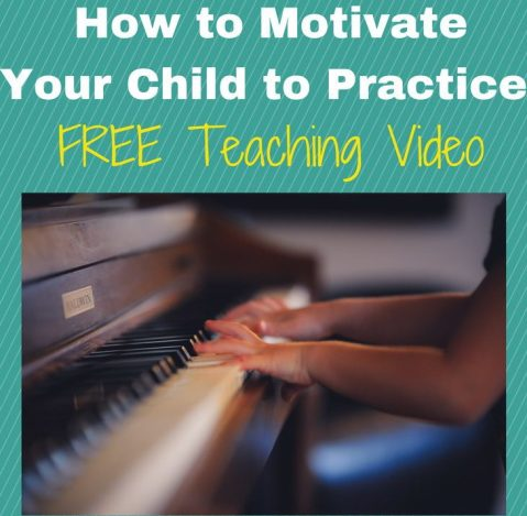 motivating your child to practice