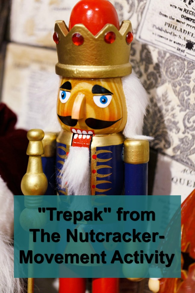 Nutcracker movement activity