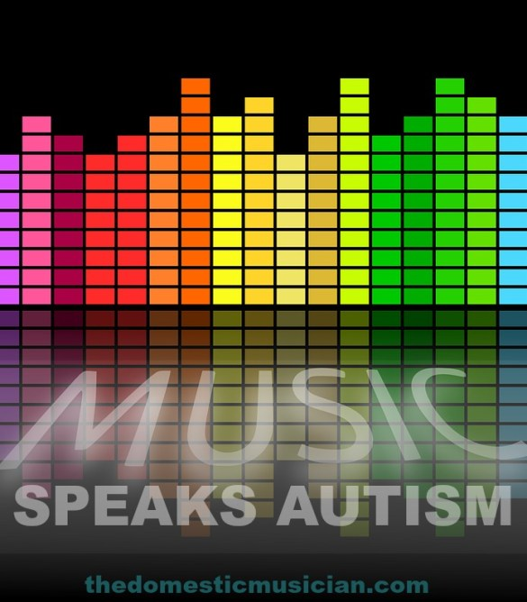 how to teach music to the autistic child