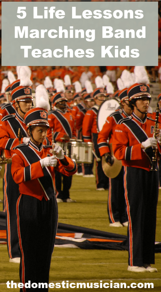 lessons marching band teaches kids