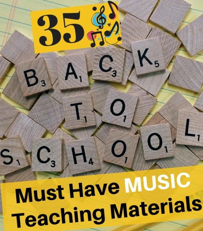 music teaching materials