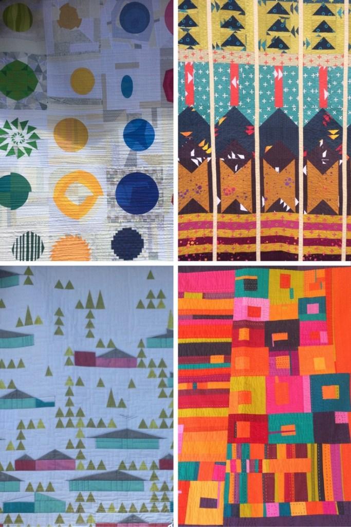 modern quilt graphic image