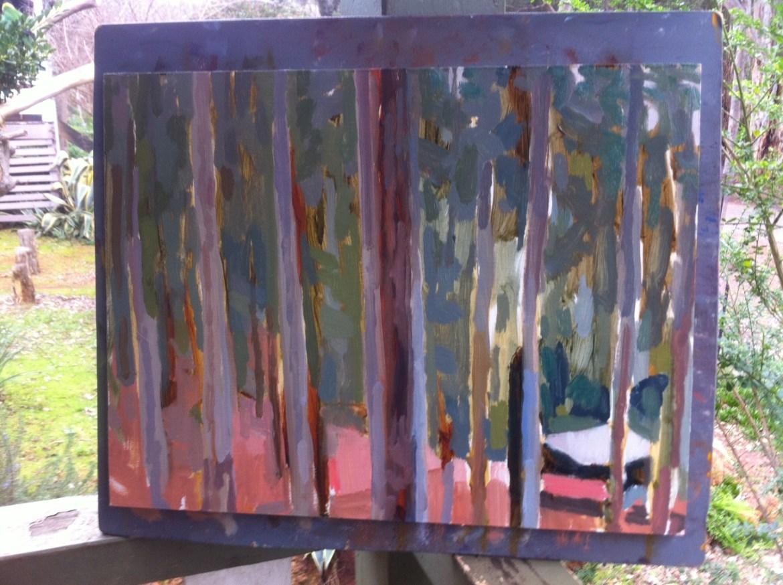 Jane Martin 1st day painting
