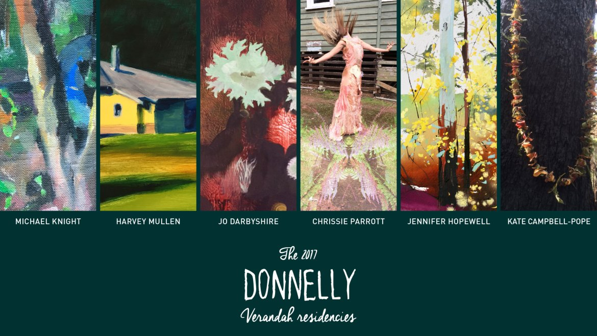 The 2017 Donnelly Verandah Residencies Exhibition