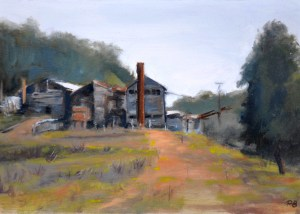 14. Peter Barker, The old mill, $310