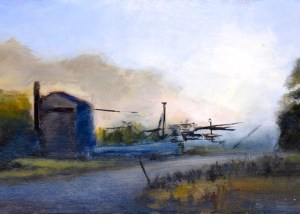3. Peter Barker, Hazy Morning $310