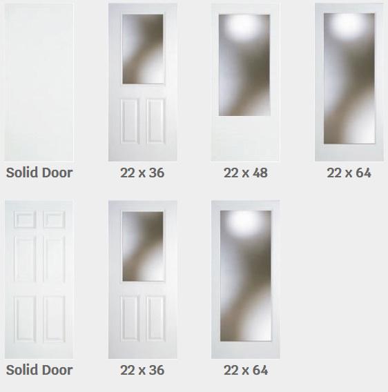 front door glass inserts the door