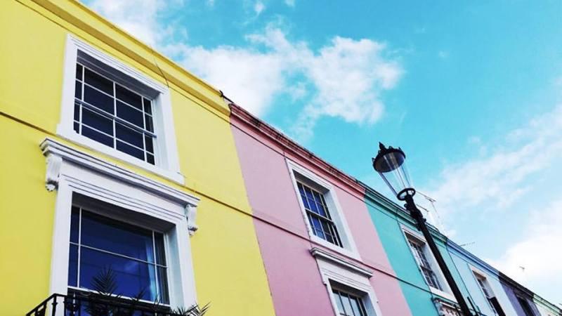 On the road: Portobello, la Londra colorata.
