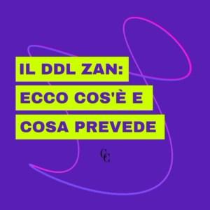 Il DDL ZAN: Cos'è e cosa prevede