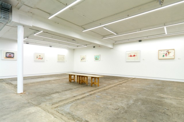 Annie Pootoogook exhibition view
