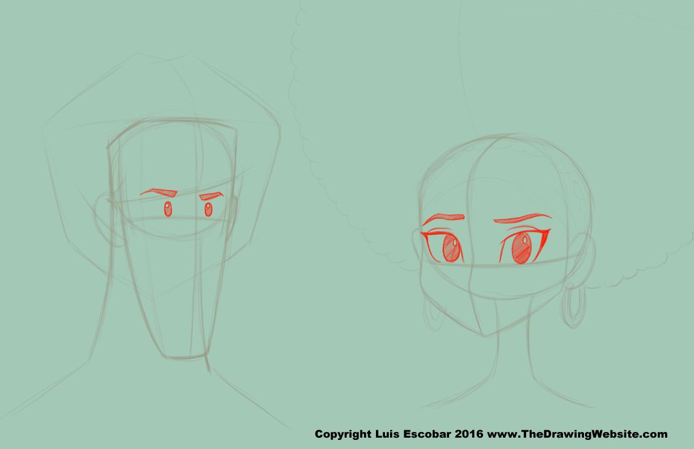 Cartoon Eye Formulasthe Drawing Website The Drawing Website