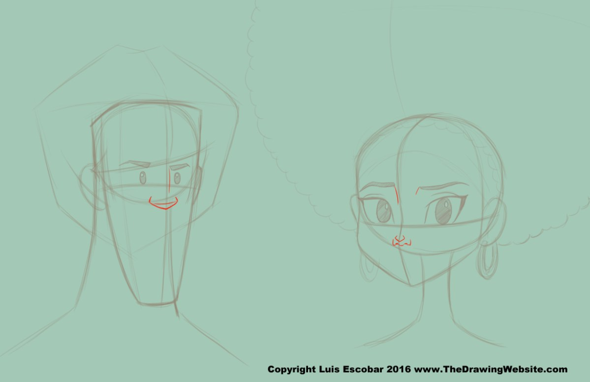 Cartoon Nose Formulasthe Drawing Website The Drawing Website