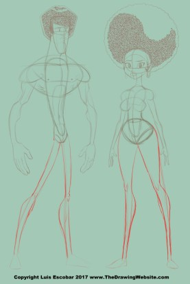 Human Legs Drawing : human, drawing, Cartoon, Formula, Drawing, Website