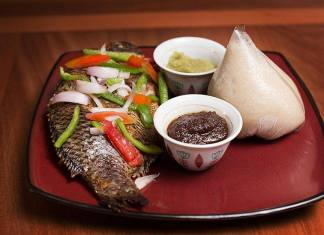 Banku and Tilapia Recipe with Pepper Sauce