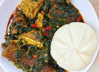 how to cook nigerian afang soup recipe