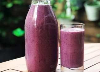 Very healthy breakfast smoothie
